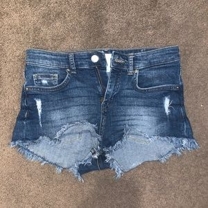H&M Jean Shorts SIZE 25 perfect condition